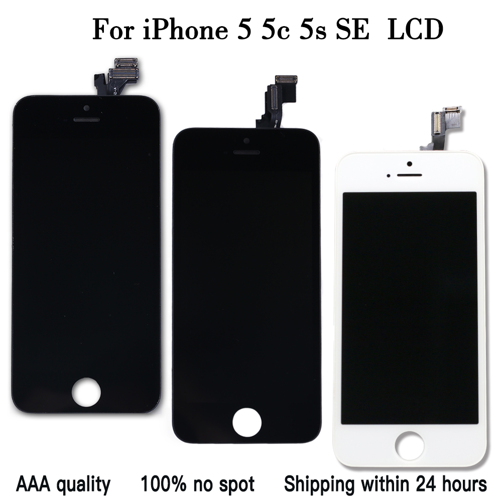 Para iPhone 5 5S 5C SE LCD Touch Screen Substituição Digitador Assembléia para iPhone5S SE Pantalla 4
