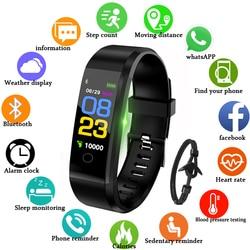 GEJIAN Brand Smart Watch Men Women Heart Rate Monitor Blood Pressure Fitness Tracker Smartwatch Sport Watch for ios android+gift