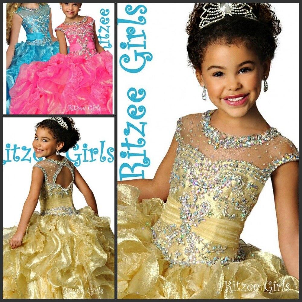 Online Get Cheap Kids Beauty Pageant Dresses -Aliexpress.com ...