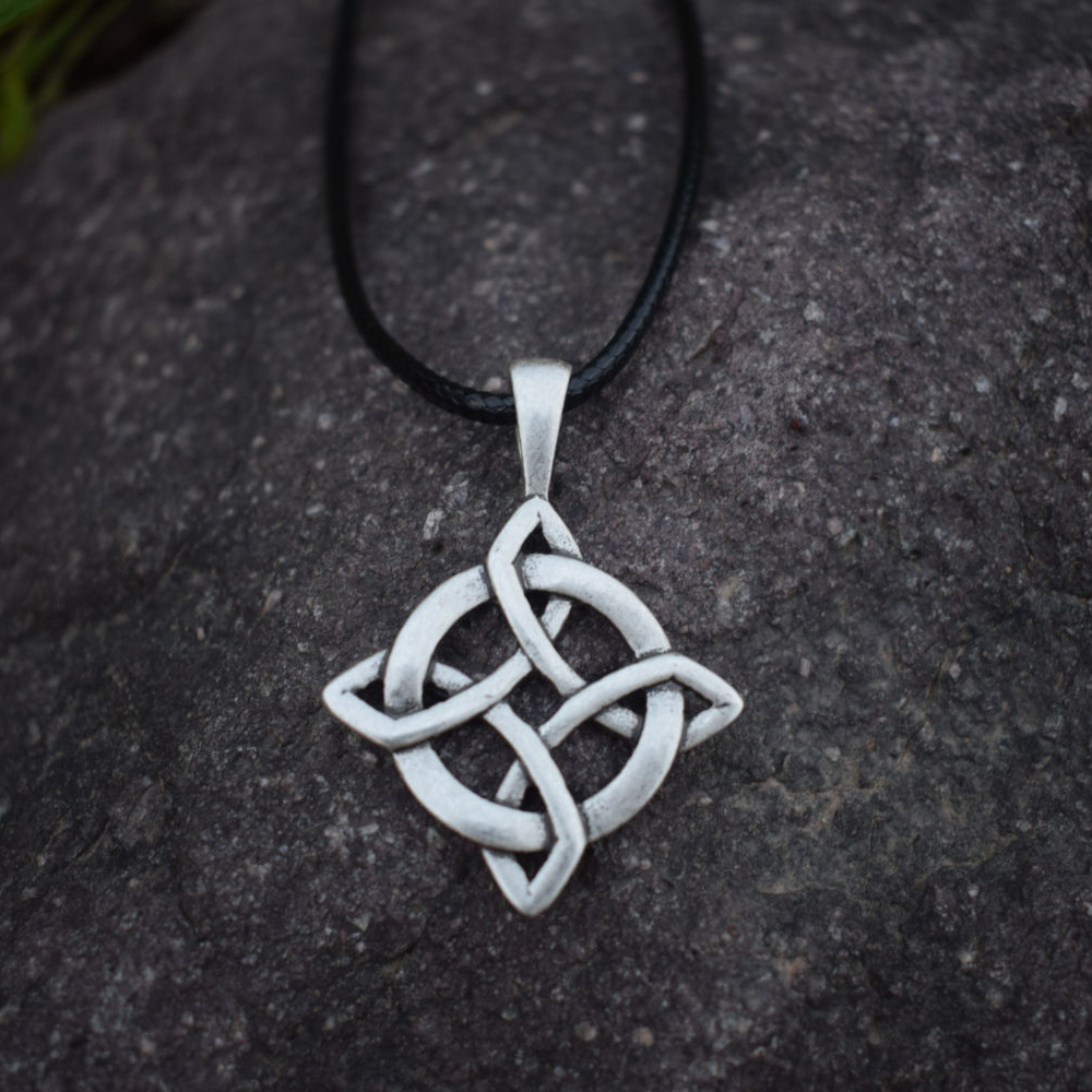 silvercloseout sterling heart products knot cz necklace celtic silver