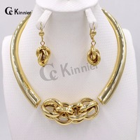 Fashion Jewelry Sets high quality African Dubai Women Necklace gold color Wedding jewelry African Bridal Jewelry Sets