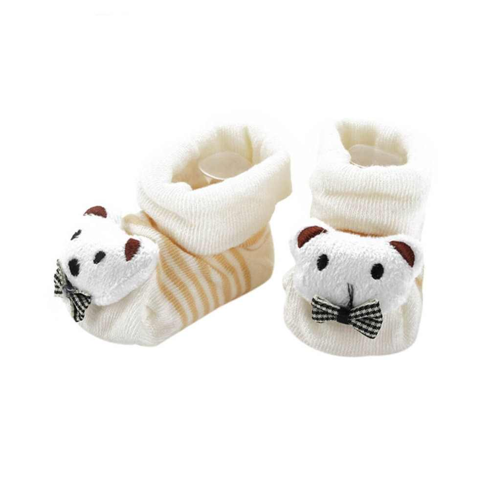 New Winter Animal Lovely Cartoon Baby Socks Shoes Cotton Newborn Booties Unisex Infant Kids Boots 0-10M