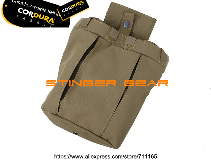 TMC 167-169 500D Cordura Medium Size Dump Pouch Coyote Brown Pouch Airsoft Military Tactical Gear+Free shipping(SKU12050416)