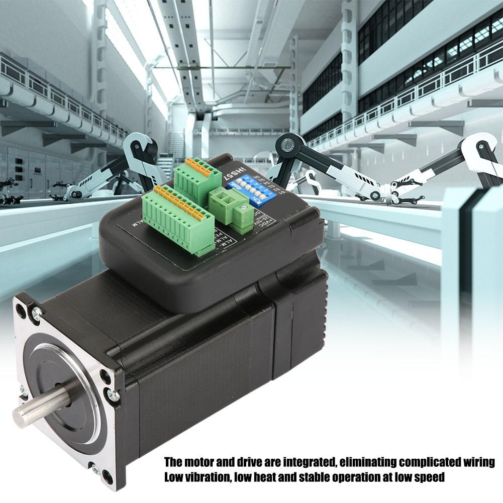 DC36V 4A Stepping Motor Integrated Digital Open Loop Stepping Motor for Automation Equipment iHS57-36-20 Step MortorDC36V 4A Stepping Motor Integrated Digital Open Loop Stepping Motor for Automation Equipment iHS57-36-20 Step Mortor