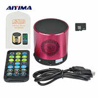 AIYIMA Mini Portable Quran Speaker SQ200 Music Player Support 8G TF Card FM Remote Control Translator USB Speakers