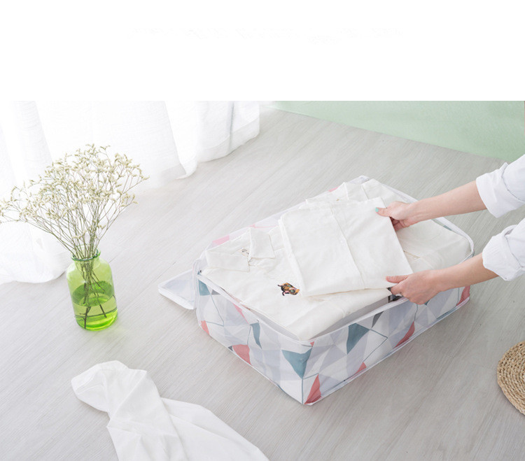 1PC Quilt Storage Bags PEVA Luggage Bags Large Home Storage Organiser Waterproof Wardrobe Clothes Storing Storage Box LF 151