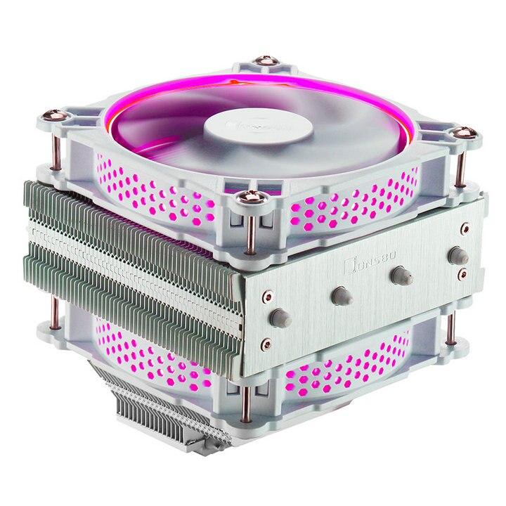 JONSBO CR-301 refroidisseur de processeur RGB ventilateur CPU Downflow radiateur Downlight contrôle radiateur