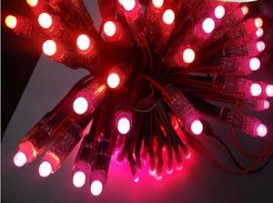 Image 2 - 50 قطعة/100/400/1000 قطعة تيار مستمر 5 فولت 12 مللي متر WS2811 RGB LED بكسل ضوء وحدة IP68 إضاءة LED مقاومة للماء كامل اللون ضوء عيد الميلاد