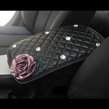 Rose Car Armrest Covers For Women and Girls