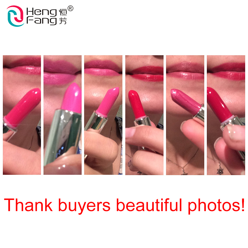 6Pcs Lot Color Reviver Balm 6 Colors Lipstick Moisturizer Lip Balm 1 7gx6 Lips Makeup Brand HengFang 9238 Free Shipping in Lipstick from Beauty Health
