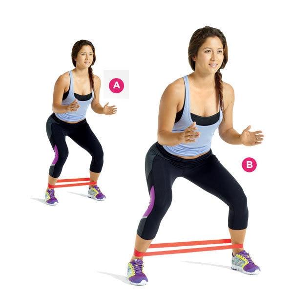 μπλε ζώνη γιόγκα ζώνη άσκηση αντοχή - Fitness και bodybuilding - Φωτογραφία 6
