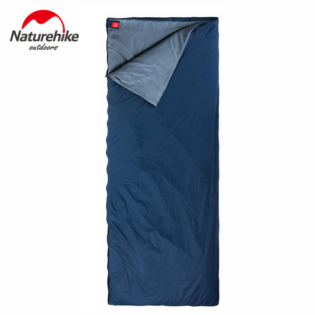 Naturehike Attachable Envelope Sleeping Bag Outdoor Camping Waterproof Sleeping Bags 1 Person 190*75cm  8~15 Celsius degreeC