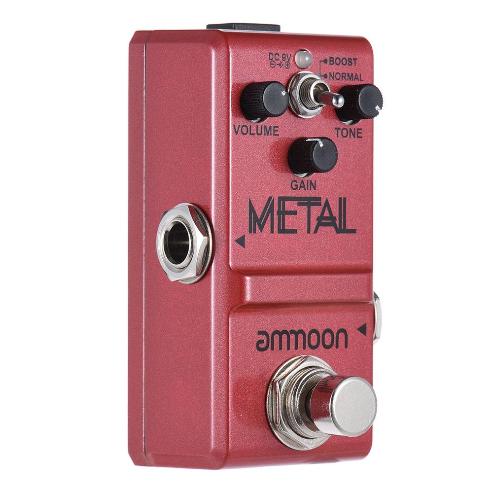 buy ammoon nano series guitar effect pedal heavy metal distortion true bypass. Black Bedroom Furniture Sets. Home Design Ideas