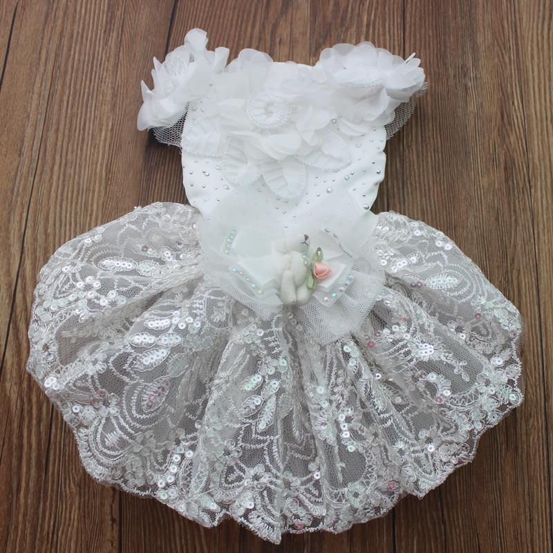 Σκύλος Cat Πολυτελές Γάμος Princess φόρεμα - Προϊόντα κατοικίδιων ζώων - Φωτογραφία 2