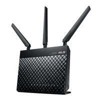 ASUS RT AC68U Router 2.4/5G Dual Band AiMesh WI FI Router AC1900 1900 Mbps AiProtection Network Security by Trend