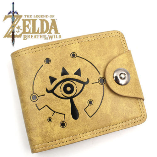 GAME anime Gravity Falls RWBY ZELDA Wallet Holder men women coin purse 7 style nintendo game zelda bifold wallet leather pu coin purse zelda skyward sword men wallets