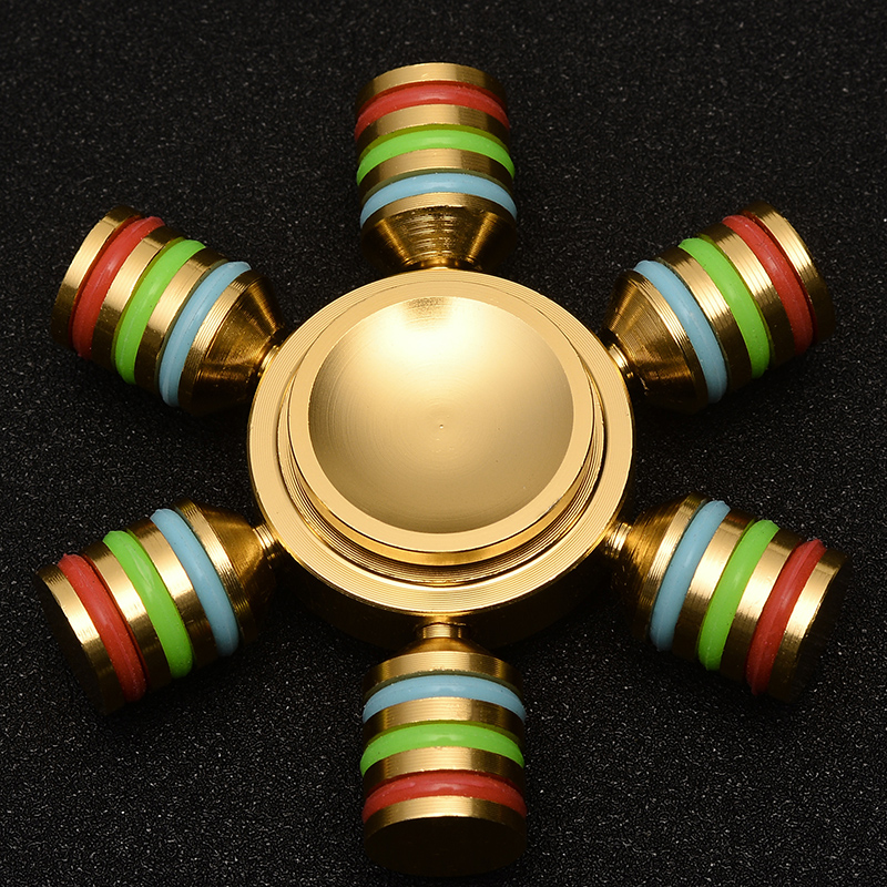Mental fidget spinner Fine craft Lasting rotation High Speed Low noise handspinner finger spinner 3T6B48