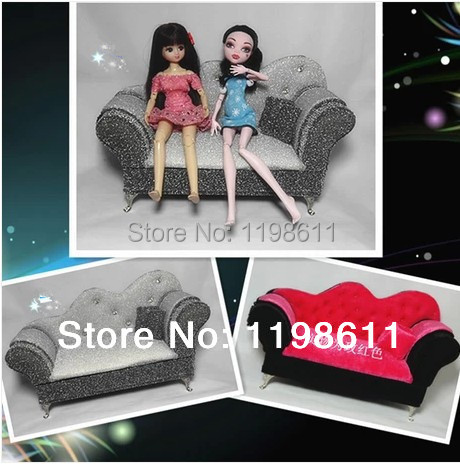 Free Shipping Best Girls Gifts New Jewelry Box For Monster High Doll,large  Sofa Doll