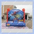 Коммерческое Качество Человек-Паук Надувной Батут 3 м на 3 м Супергерой Надувные прыжки Замок Быстрая доставка