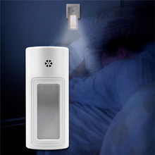 Plug-in Night Light Warm White LED Nightlight Lamp Dusk-to-Dawn Sensor night light with motion sensor terrace spot led exterior