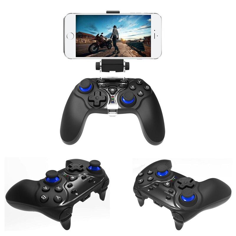 Manette de jeu sans fil Bluetooth manette de jeu pour iphone IOS Android manette de jeu pour PC TV Box pour jeux MFI - 2