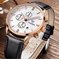 2016 Hombres de Los Relojes de Marca de Lujo de Relojes CADISEN Reloj Militar Deporte Reloj de Cuarzo Genuino de Los Hombres Relojes de Pulsera Relogio masculino