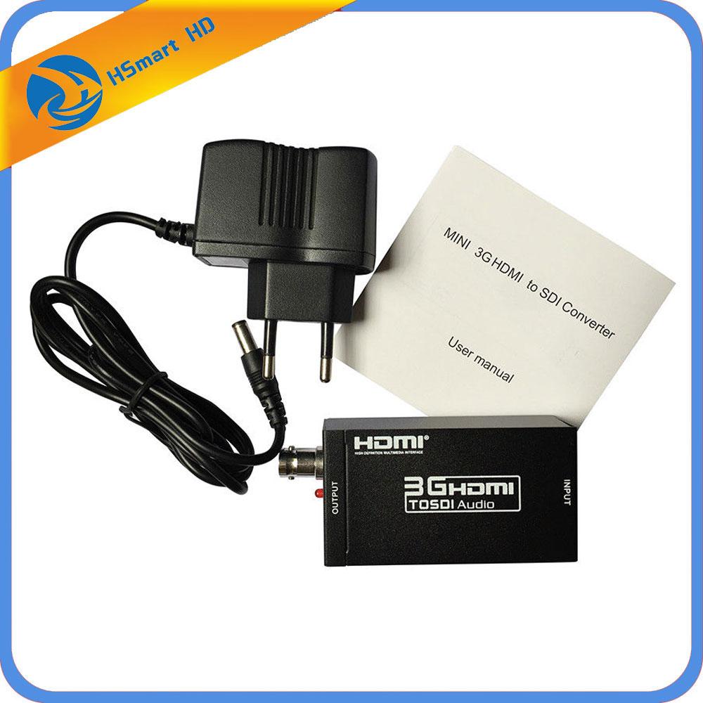 SDI to HDMI Converter SD-SDI/HD-SDI/3G-SDI to HDMI Adapter Support 720p1080p 2015 new style sdi converter adapter vga cvbs to sdi support full hd sd sdi 3g sdi 2 sdi ports free shipping