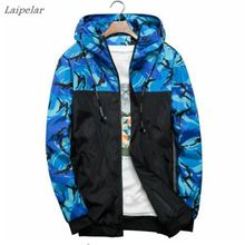 Fashion Brand Military Style Jacket Men Camouflage Patchwork Long Sleeve Streetwear Classic good quality coat
