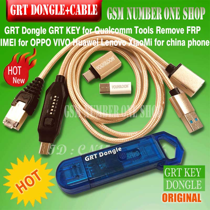 Original GRT dongle grt key powerful Multi Functional Boot all in 1 cable FOR CHINA PHONE