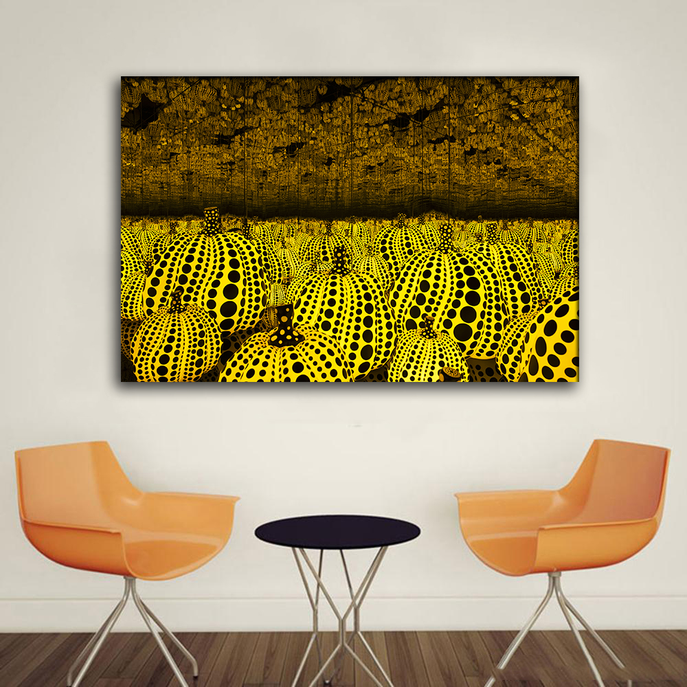 RELIABLI ART Decoration Yayoi Kusama Pumpkin Pictures Frameless ...