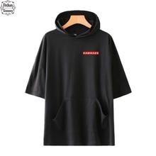 Frdun Tommy 2018 Eminem Kamikaze Rapper manga corta Hoodies sudadera moda  álbum Harajuku mujeres hombres moda Hoodies ropa 44ba8b9683e