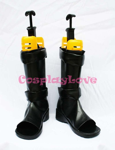 NARUTO Anime Sai Cosplay Shoes Boots Custom Made