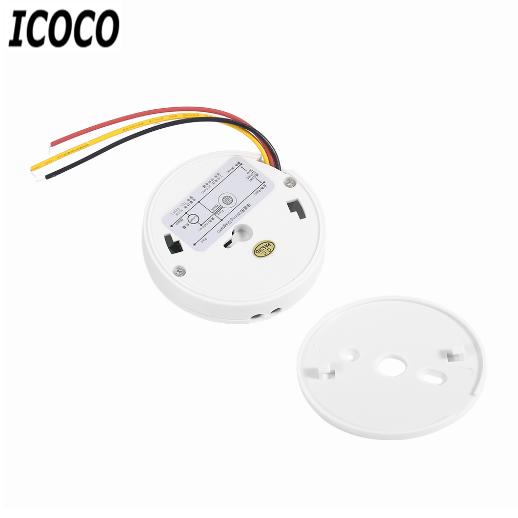 Icoco Practical Mini Adjustable Body Motion Movement Ceiling Pir Ir Sensor Wiring Diagram Infrared Detector Light Lamps Switch 220v 200w Wholesale In Lights From