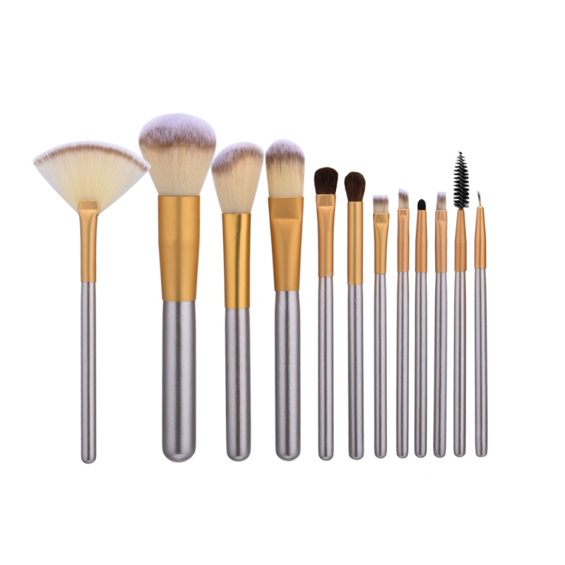 High Quality 12/18/24pcs Makeup Brushes Professional Powder Foundation Brush Set Cosmetic Make Up Tools Blush Brush 614 614 X2 professional 24pcs set champagne makeup brushes powder foundation blush brush high quality cosmetic make up tools kits with bag