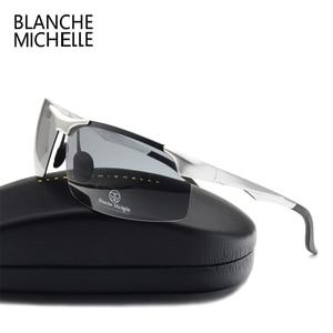 Image 3 - 2020 אלומיניום מגנזיום גברים משקפי שמש מקוטב ספורט נהיגה ראיית לילה משקפי משקפי שמש דיג UV400 ללא שפה משקפיים שמש sunglasses men sun glasses man sunglass