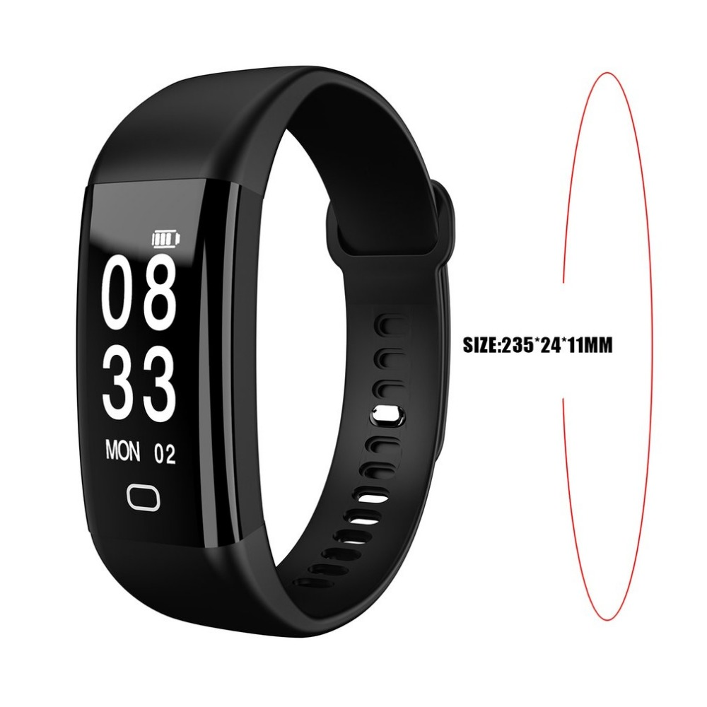 F09 Unisex Sport Pedometer 0.96 Inch HD Display Smart Health Bracelet Waterproof USB Charging Smart Watch Sleep Monitor New