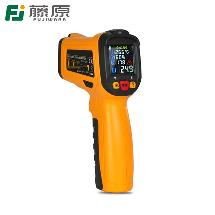 FUJIWARA Infrared Temperature Instrument -50-800 Centigrade  Industrial Household Infrared Thermometer Gun Digital Thermometer tes 1326s industrial infrared thermometer 35 500c
