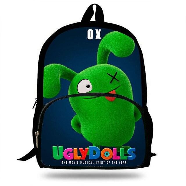 a12ab6bb7ced29 Uglydolls Ox Moxy Uglydog drukowanie plecak dla nastoletnich chłopców dzieci  codzienna książka torba torby szkolne dla
