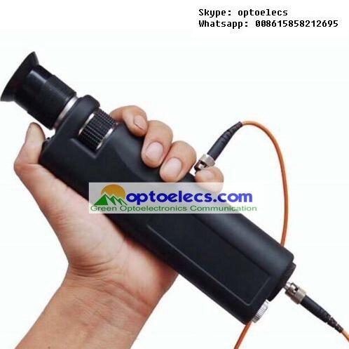 GO 400X Handheld Fiber Optic Microscope For Fiber End Face Inspection
