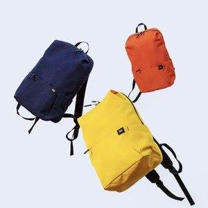 Image 3 - الأصلي شاومي حقيبة الكتف 10L165g حقيبة الصدر الرياضية غير رسمية مناسبة للرجال/النساء حجم صغير حقيبة الكتف حقيبة ملونة