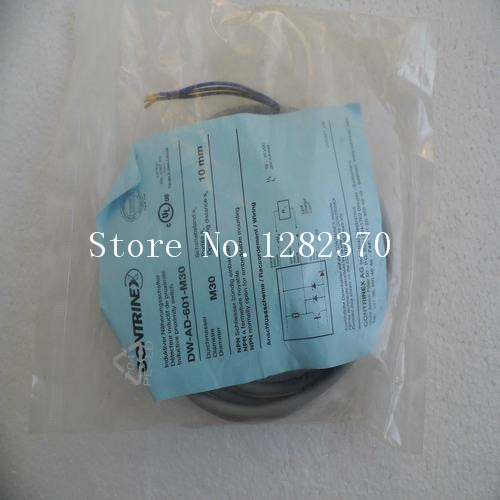 [SA] New original authentic special sales CONTRINEX sensor switch DW-AD-601-M30 spot --2PCS/LOT [sa] genuine original special sales festo solenoid valve cpa10 m1h 5js spot 173450 2pcs lot