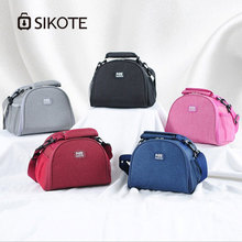 SIKOTE Oxford Lunch Bag Portable Insulation Box for Picnic Cooler Thermal Bags Student Women Sweet Style