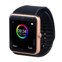 Дешевые Bluetooth Smart часы GT08 тактовую синхронизацию notifier поддерживает sim-карты для Android
