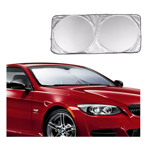 Image 1 - Car Front Rear Windshield Sunshade Dashboard Cover Visor Glass Front Window Sun Shade Foldable Cover Universal Car Accessories