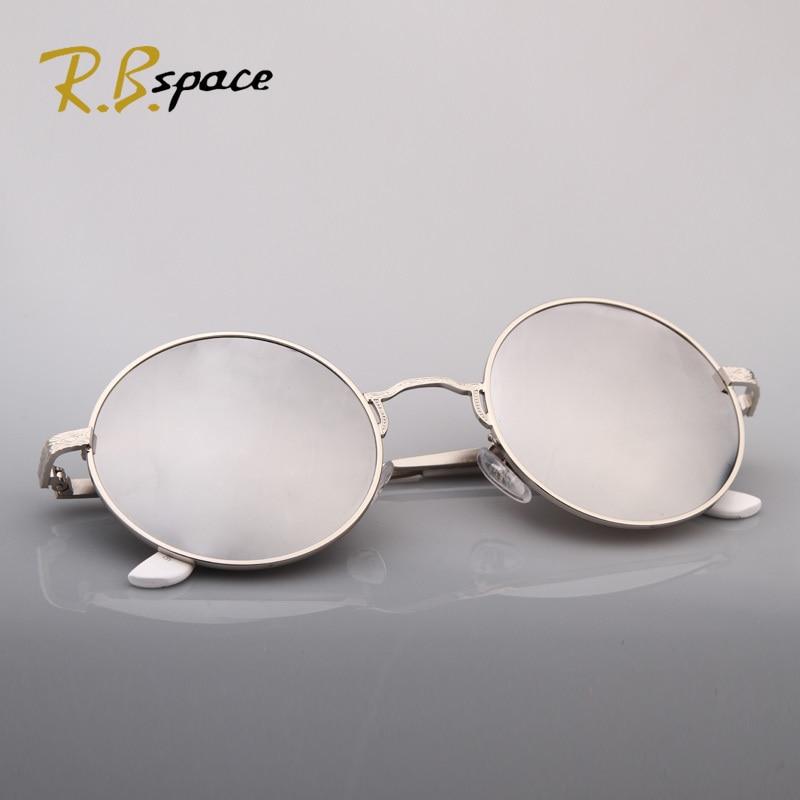 RBspace 2017 new arrival fashion vintage round metal box circle anti uv sunglasses female sunglasses female