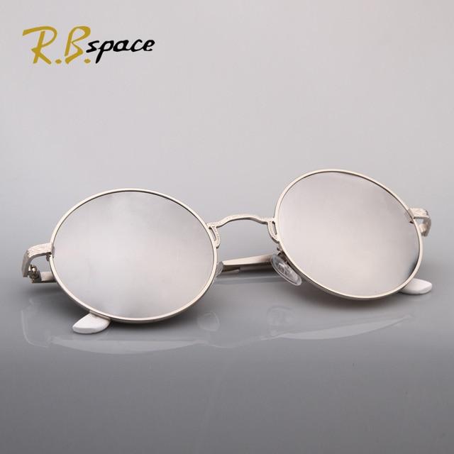RBspace 2017 new arrival fashion vintage round metal box circle anti-uv sunglasses female sunglasses female multi-colored mirror