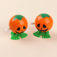 Clockwork-Toy Wind-Up-Toys Plastic Jumping Kids Mini for Gifts Pumpkin-Shape Design Hot-Selling