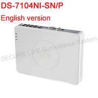 DS 7104NI SN P English Version NVR 4CH Up To 2MP Resolution MINI POE Nvr