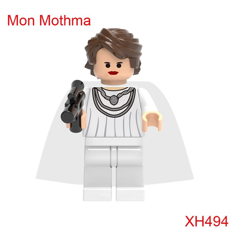 Mon Mothma Clone Trooper Star Wars Building Block 7754 Home One Mon Calamari Star Cruiser Figures Toys For Children Xh494