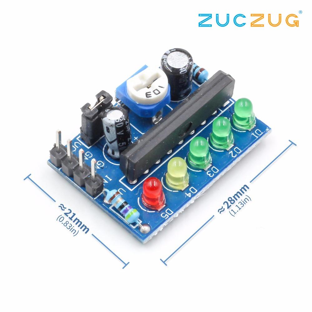 5PCS KA2284 Power Level Indicator Suite Trousse Battery Pro Audio ...